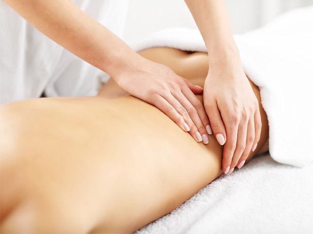 masaje para drenaje linfático