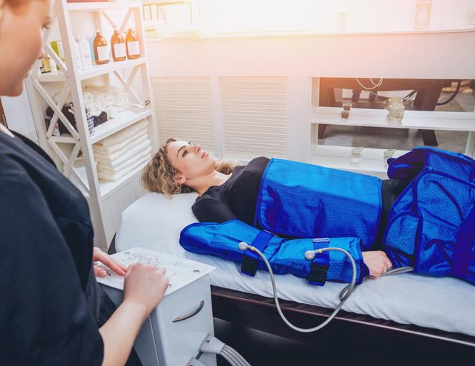 masaje de presoterapia